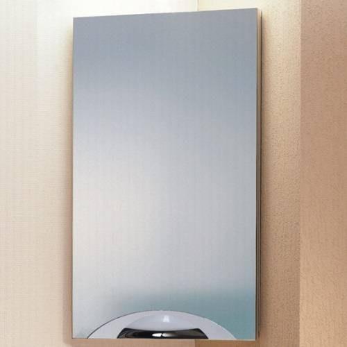 Шкафчик угловой Аквелла Del-m.04.33 Дельта с зеркалом