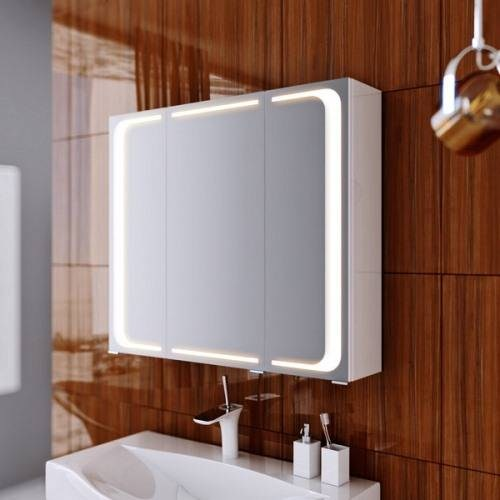 Шкаф-зеркало Аквелла Mil.04.08 80 см