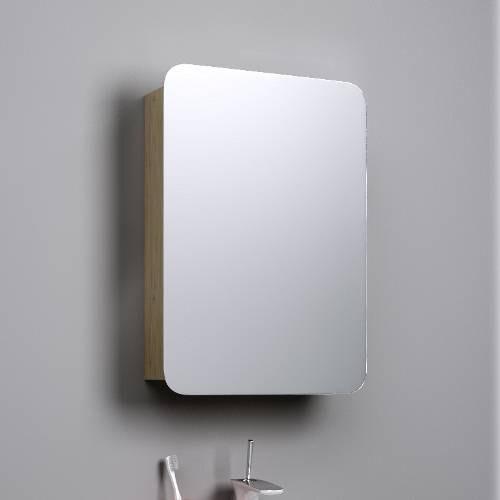 Шкаф-зеркало Аквелла Veg.04.05 Вега , дуб сонома