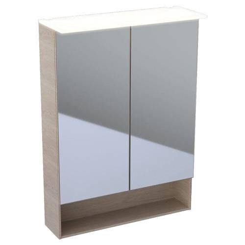 Зеркальный шкаф Keramag Acanto 500.644.00.2 60 см дуб мистик