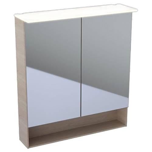 Зеркальный шкаф Keramag Acanto 500.645.00.2 74 см дуб мистик