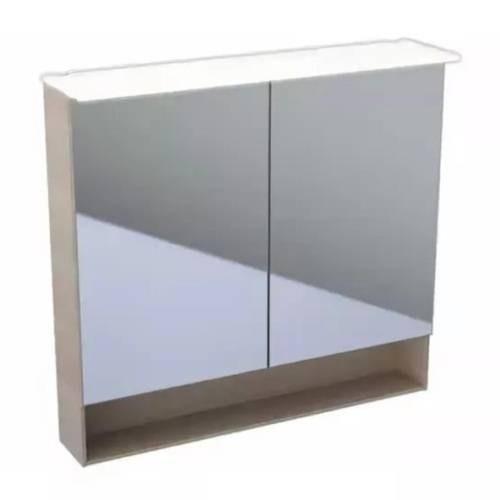 Зеркальный шкаф Keramag Acanto 500.646.00.2 89 см дуб мистик