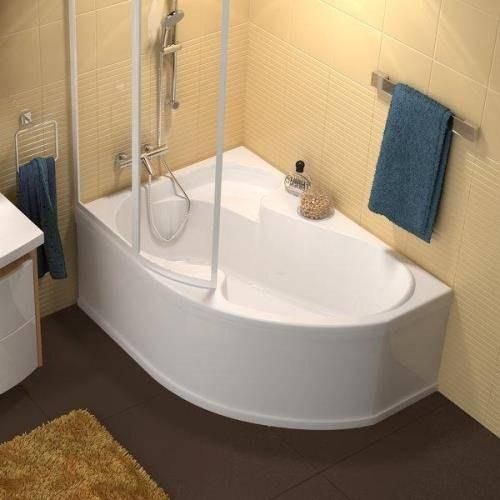 Ванна акриловая Ravak Rosa 140x105