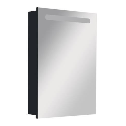 Зеркальный шкаф Roca Victoria Nord Black Edition 60 см, правый ZRU9000099