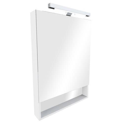 Шкаф зеркальный Roca Gap 80 см, белый ZRU9302750