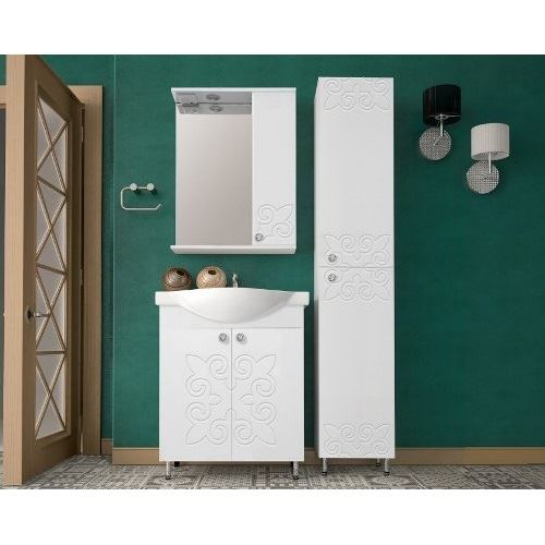 Зеркало-шкаф Style Line Этно 650/С с подсветкой