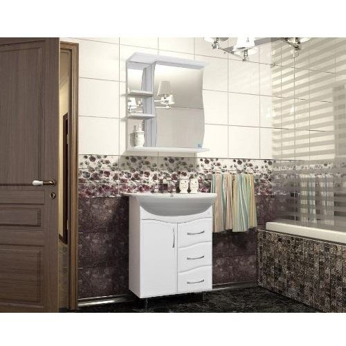 Зеркало-шкаф Style Line Волна 600