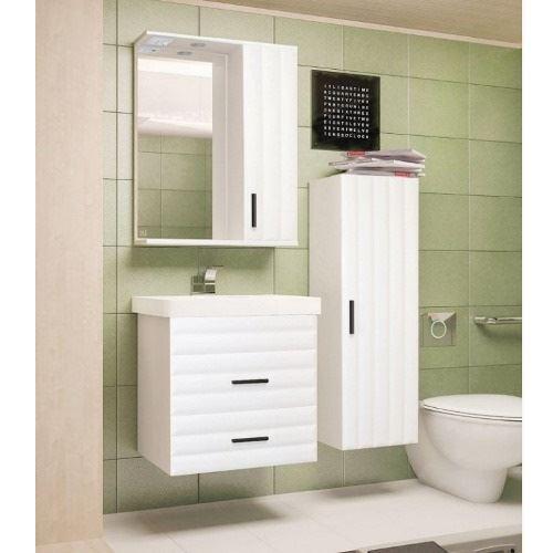 Зеркало-шкаф Style Line Агава 600/С, белое
