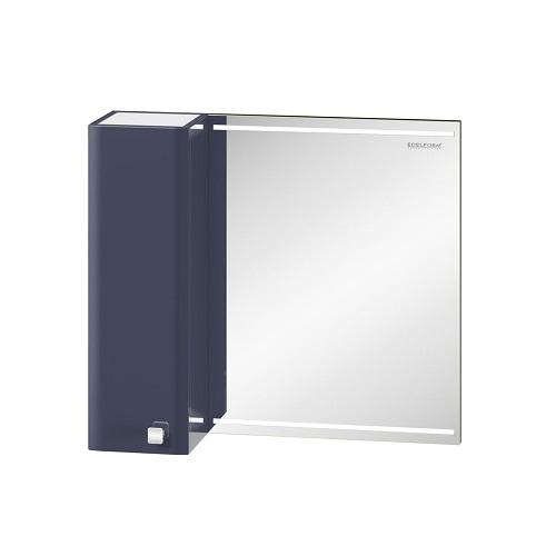 Шкаф зеркальный Edelform Нота 75, 700х630 мм, серый