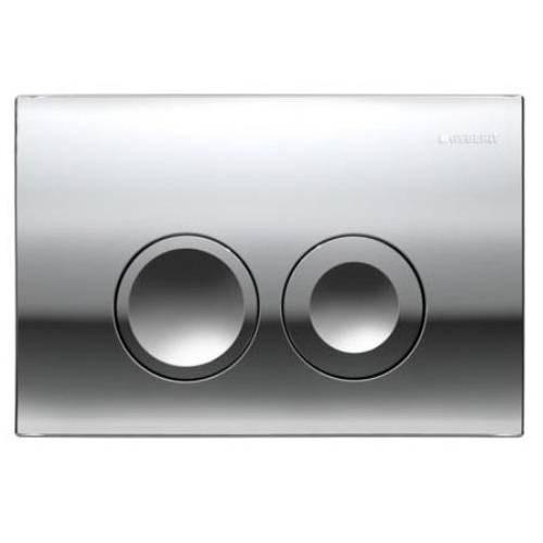 Комплект для подвесного унитаза Geberit 458.121.21.1 инстал.Duofix Set клавиша Delta21 хром глянец
