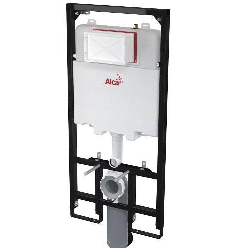 Инсталляция для унитаза ALCAPLAST AM1101/1200 Sadroмodul Slim для сухой установки для гипсокартона