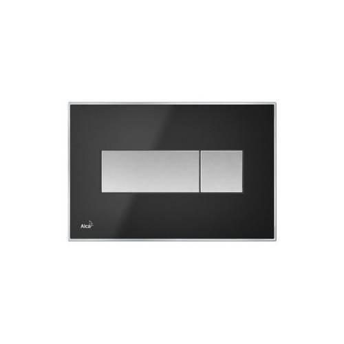 Кнопка управленияALCAPLAST M1375 с вкладышем черный-матовый
