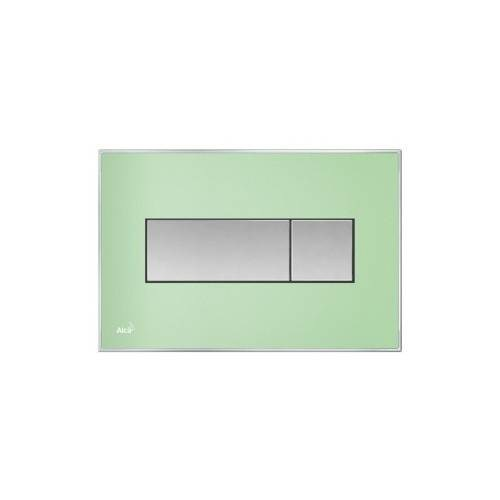 Кнопка управленияALCAPLAST M1372 с вкладышем зеленый