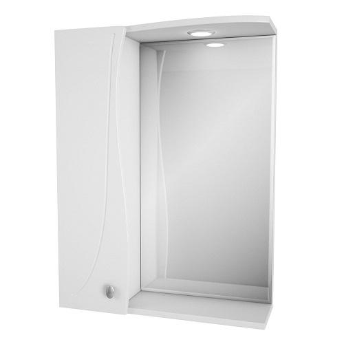 Зеркальный шкаф Merkana Тенерифе 55, белый