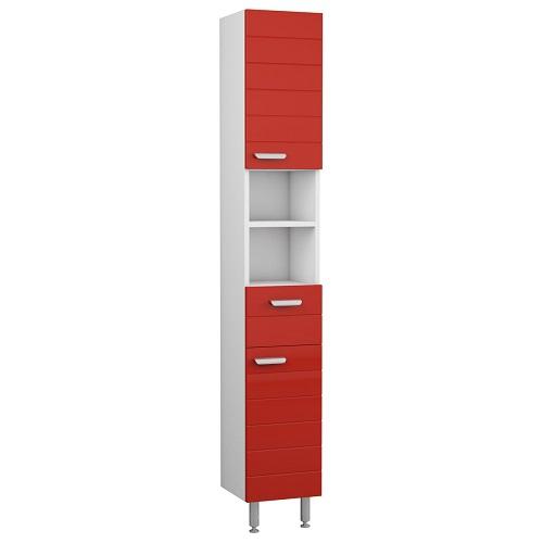 Пенал Merkana Таис 28, с одним ящиком, красный