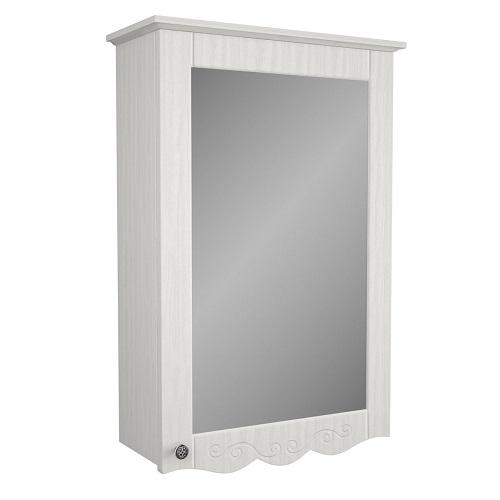 Зеркальный шкаф Merkana Гент 50, белый матовый