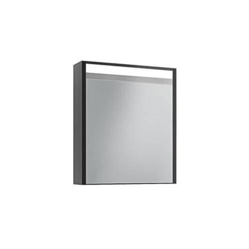 Шкаф зеркальный Edelform Карино 60 черный с эбони