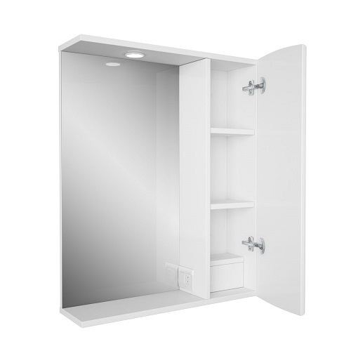 Зеркальный шкаф Merkana Авила 60, белый