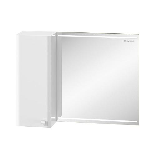 Шкаф зеркальный Edelform Нота 85, 830х630 мм, белый