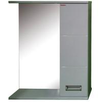 Зеркало Merkana Руно 60, шкафчик справа, белый