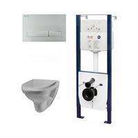 AM.PM I012702 I014101 C741738SC Комплект инсталляция с клав белый с подв унит Sense L с сид-ем м лифт